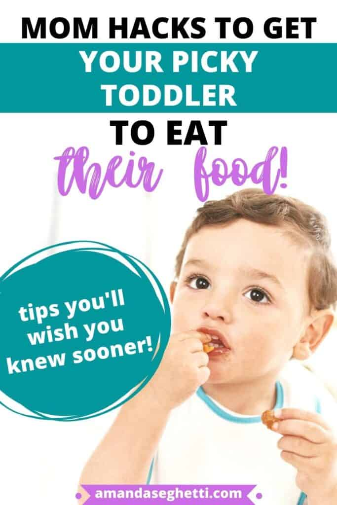 Mom hacks when picky toddlers wont eat