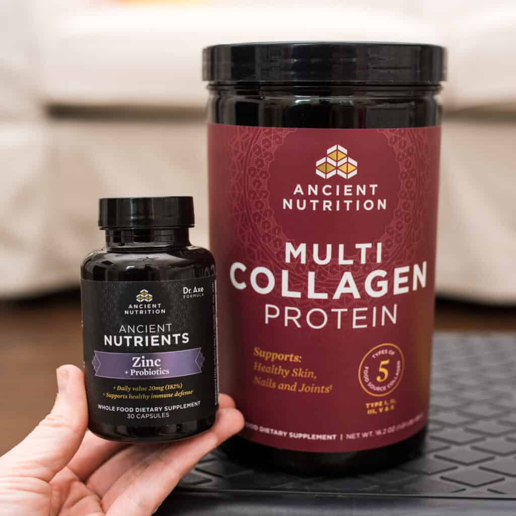 ancient nutrition multi collagen and zinc