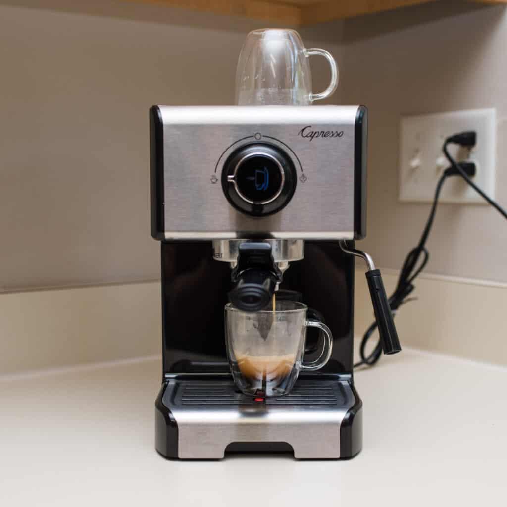 capresso espresso machine - Amanda Seghetti