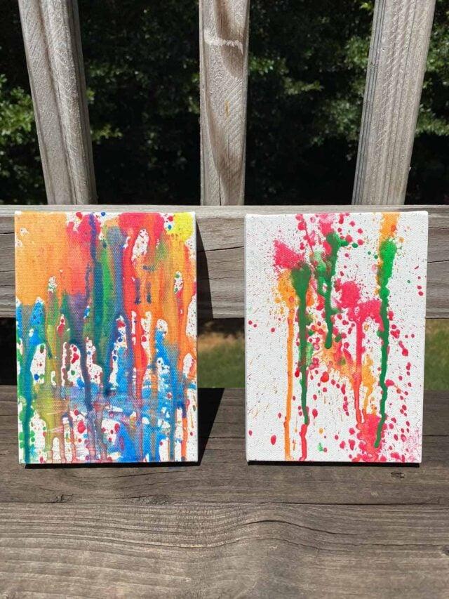 Water Gun Painting Activity