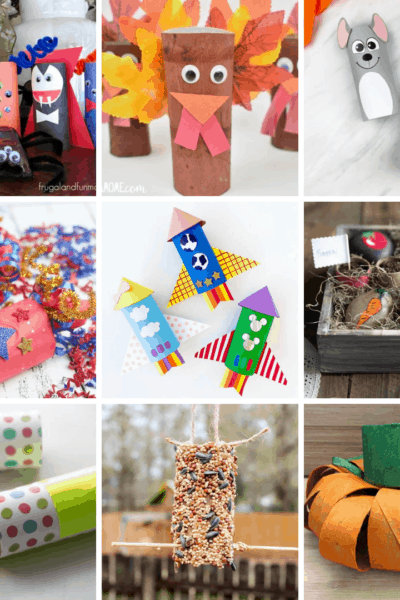 fun and easy toilet paper roll crafts for kids