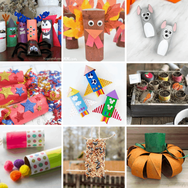19 Fun and Easy Toilet Paper Roll Crafts for Kids