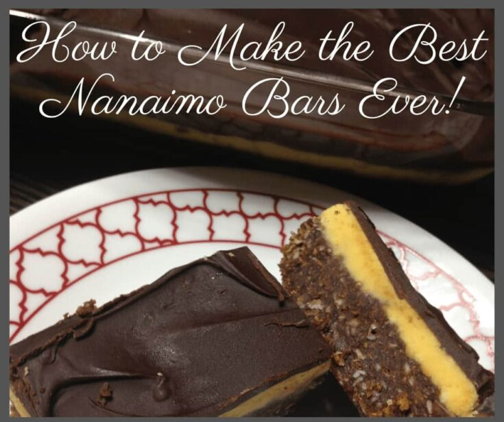 how to make the best nanaimo bars ever square - Amanda Seghetti