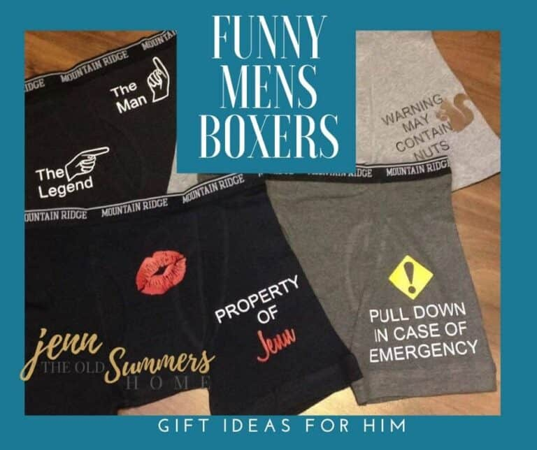 Customized Men's Boxers | 4 Funny Gift Ideas for Him