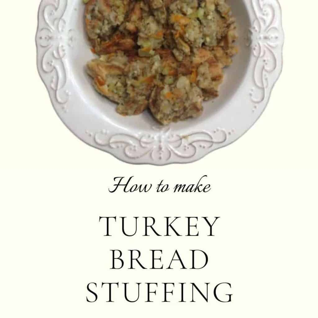 how to make turkey bread stuffing