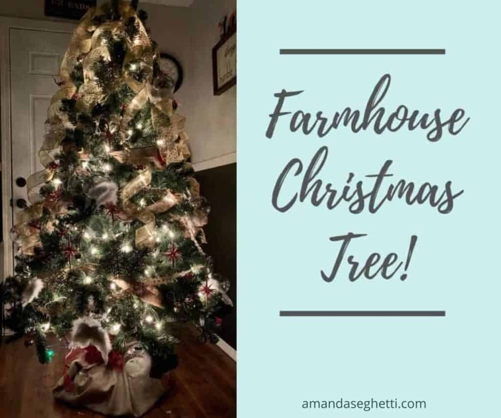 2 farmhouse christmas tree - Amanda Seghetti