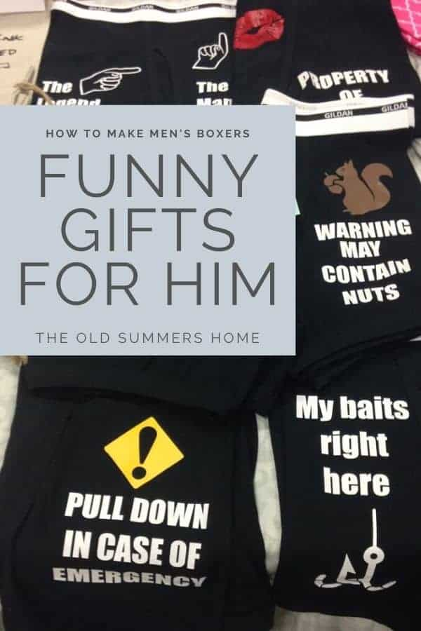 how to make funny mens boxers
