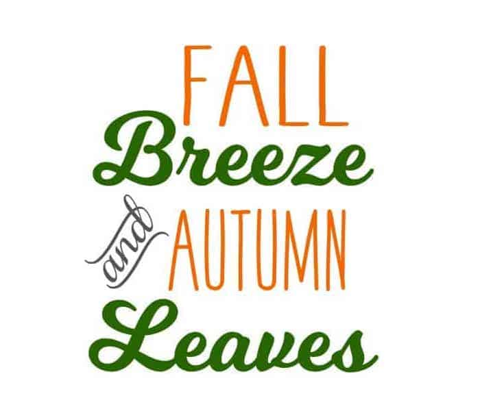 5 Popular Fall Quotes + Fall Craft Ideas [Free SVG files!]