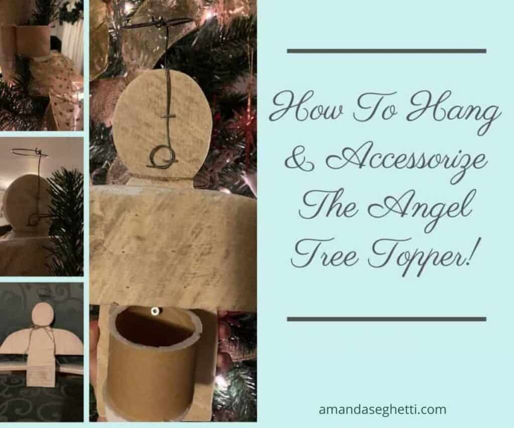 4 accessorize angel tree topper - Amanda Seghetti