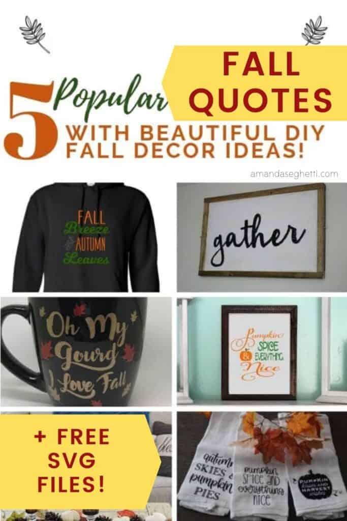 5 popular fall quotes - Amanda Seghetti