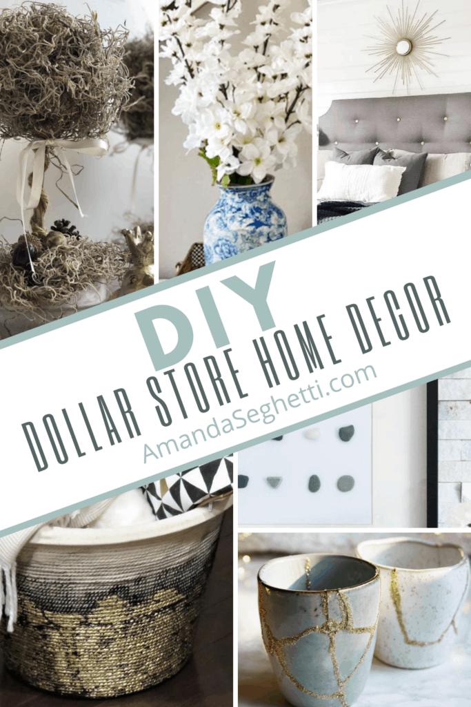 DIY Dollar Store Home Decor - Amanda Seghetti
