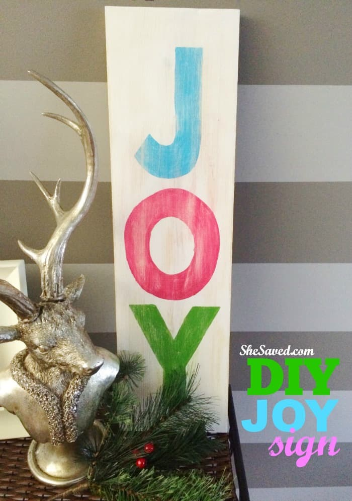 DIY JOY SIGN - Amanda Seghetti