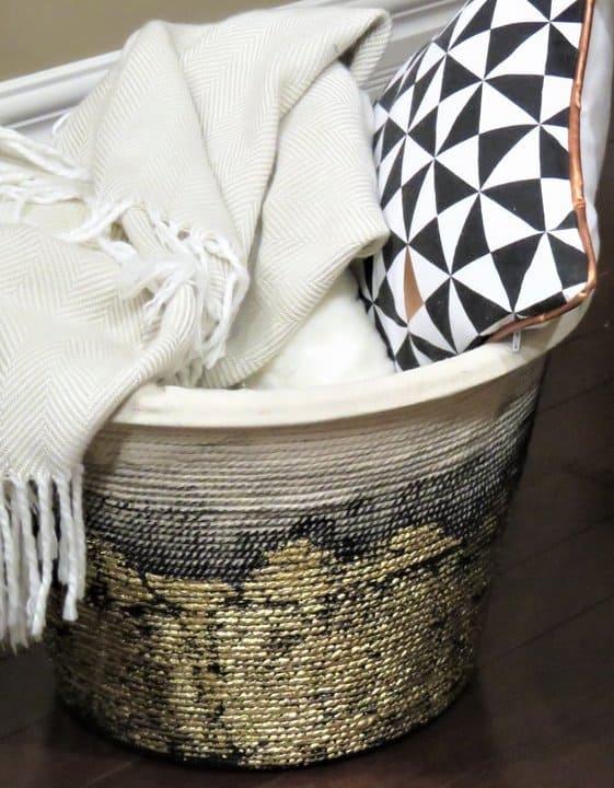 DIY Rope Basket - Amanda Seghetti