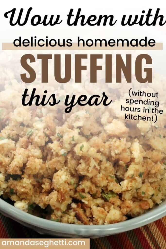 Turkey bread stuffing pin
