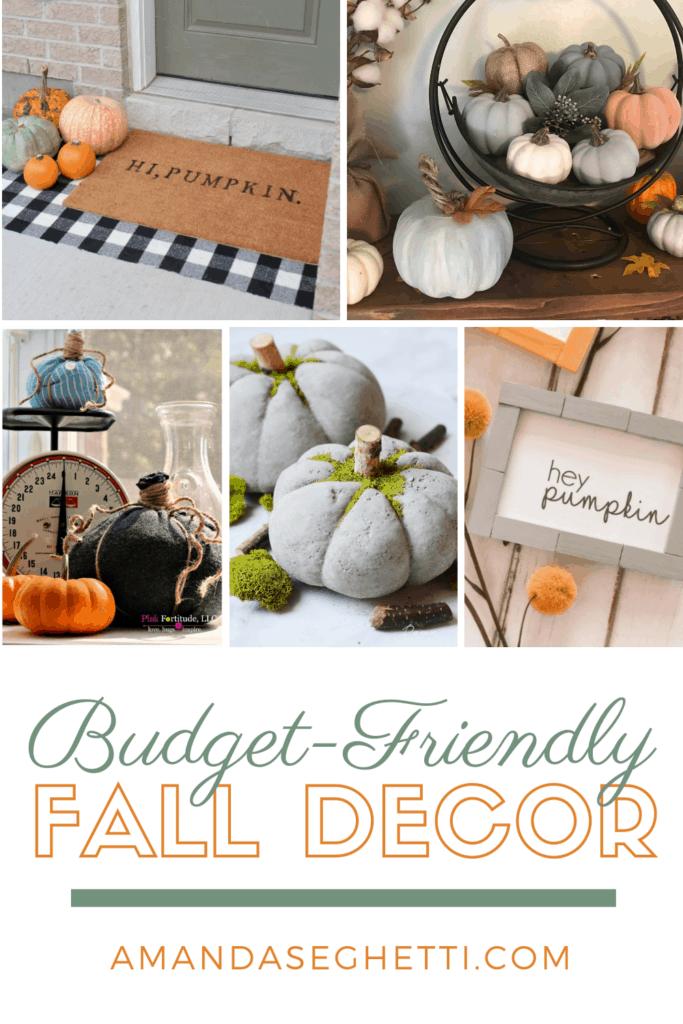 budget friendly fall decor - Amanda Seghetti