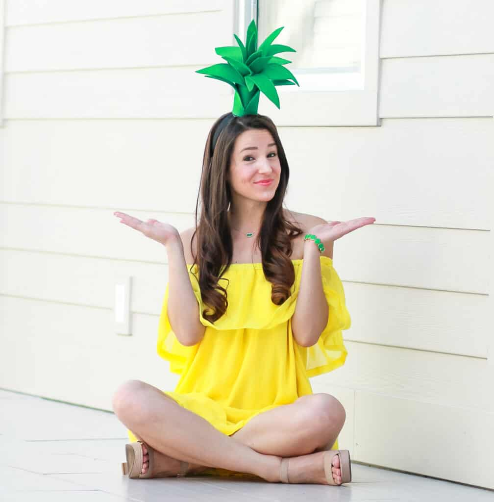 diy pineapple costume 24 - Amanda Seghetti