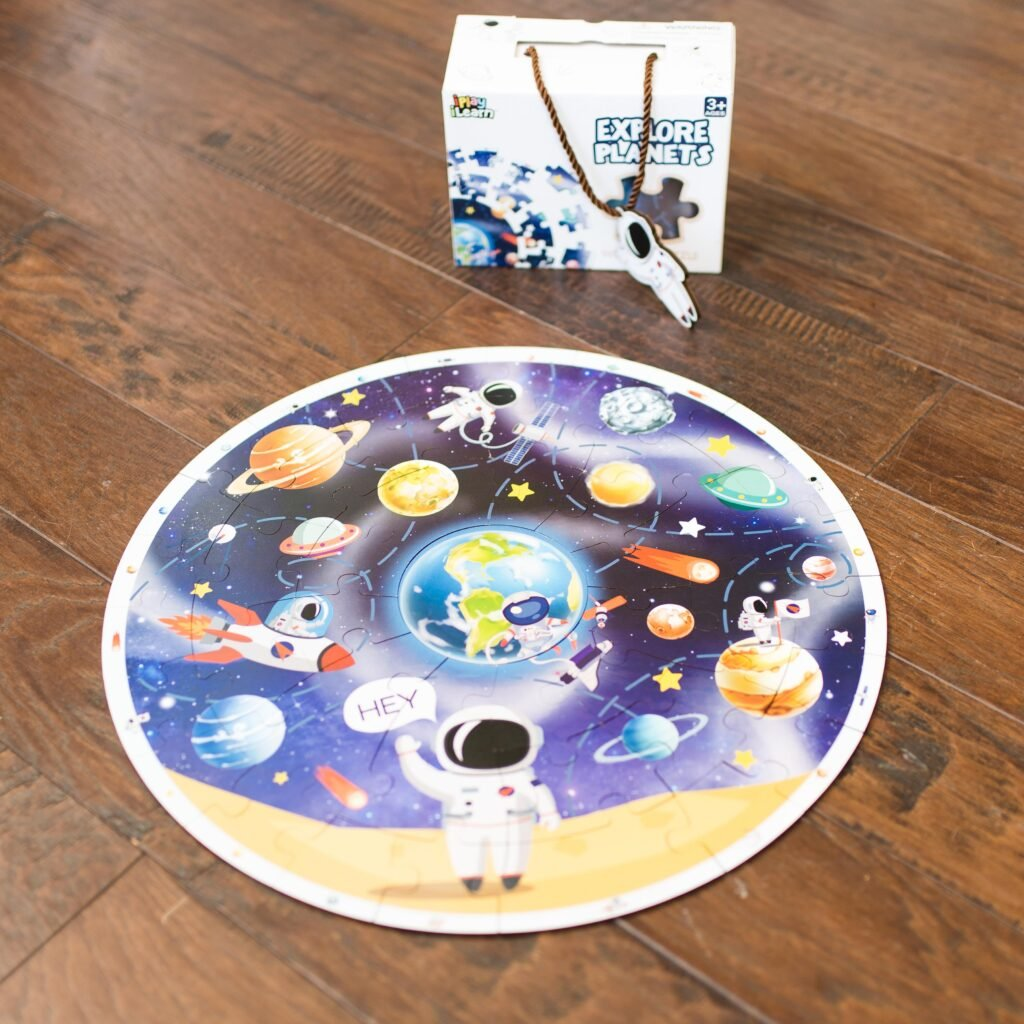 explore planets puzzle