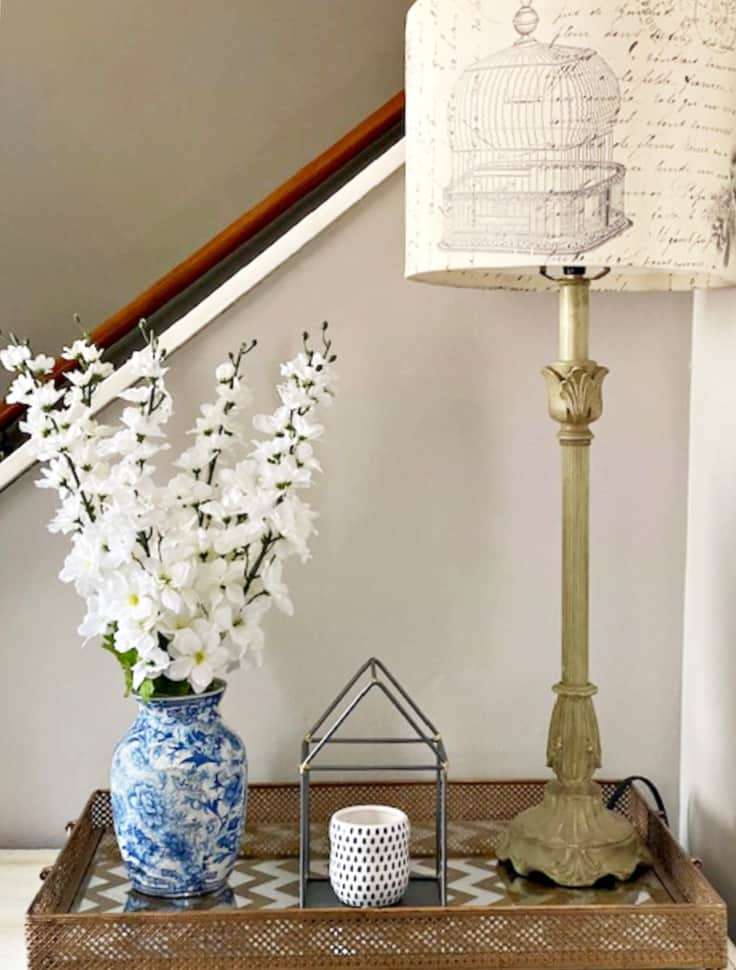 finished chinoiserie vase - Amanda Seghetti