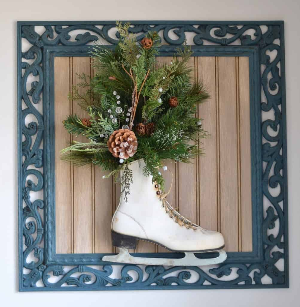 framed evergreen ice skate 1 of 1 7 - Amanda Seghetti