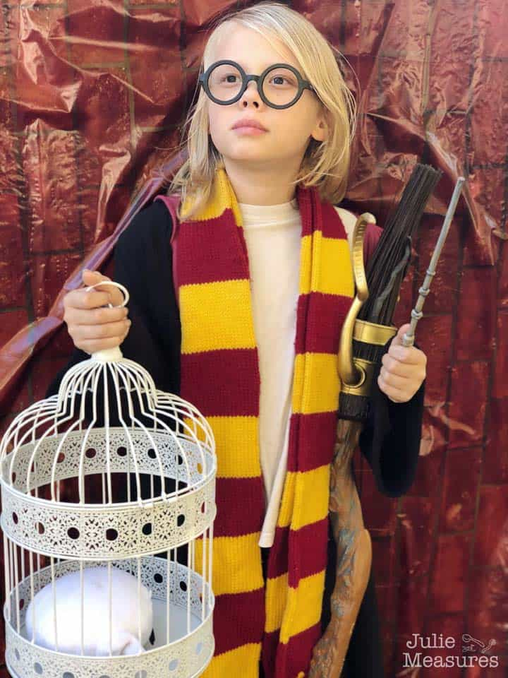 harry potter party diy costume - Amanda Seghetti