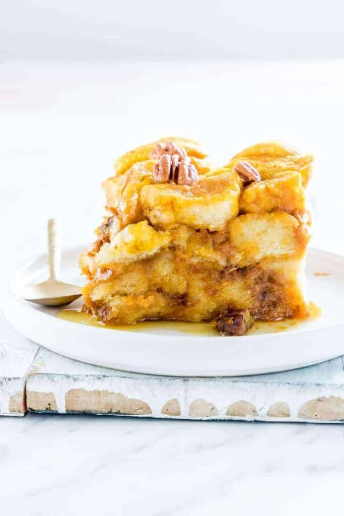slow cooker bread pudding 6 - Amanda Seghetti