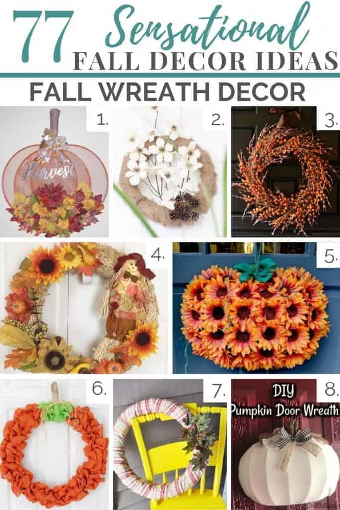 fall decor ideas fall wreaths