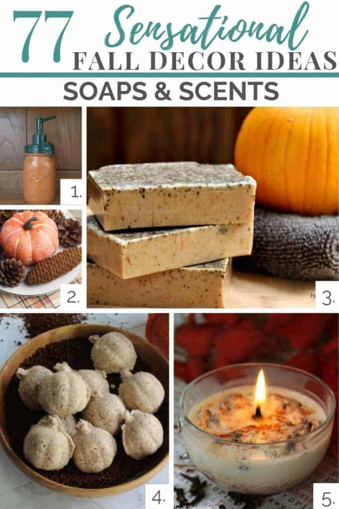 fall soaps and scents