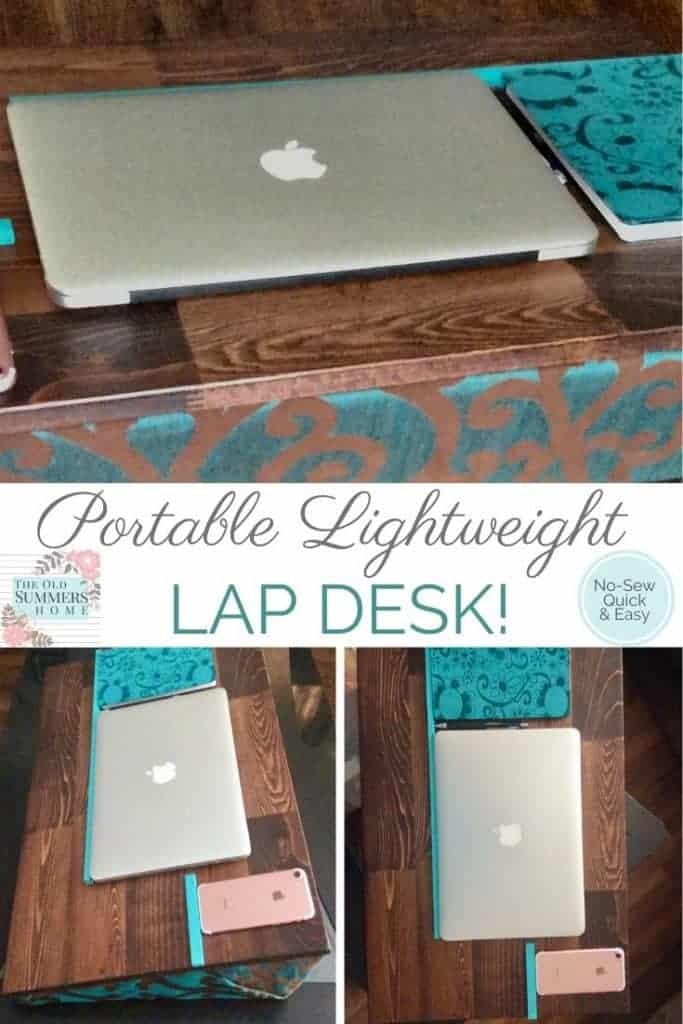 portable lightweight lap desk