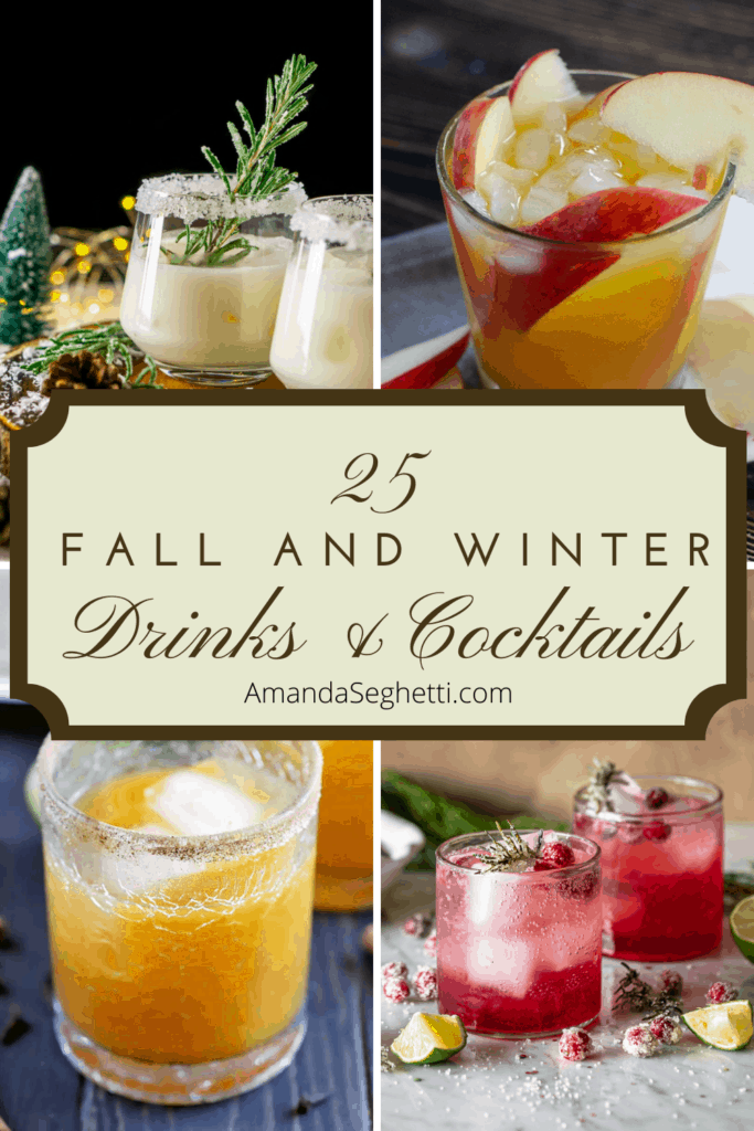 25 Fall and Winter Drinks and Cocktails - Amanda Seghetti