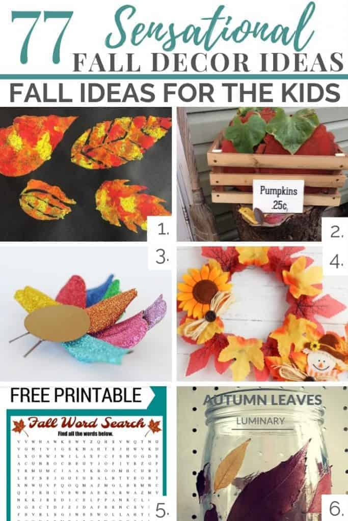 fall ideas for the kids