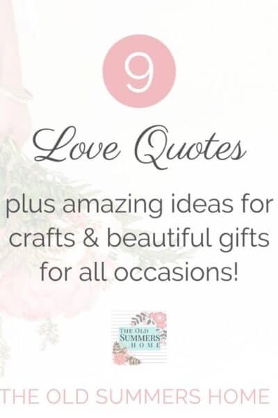 9 love quotes pin