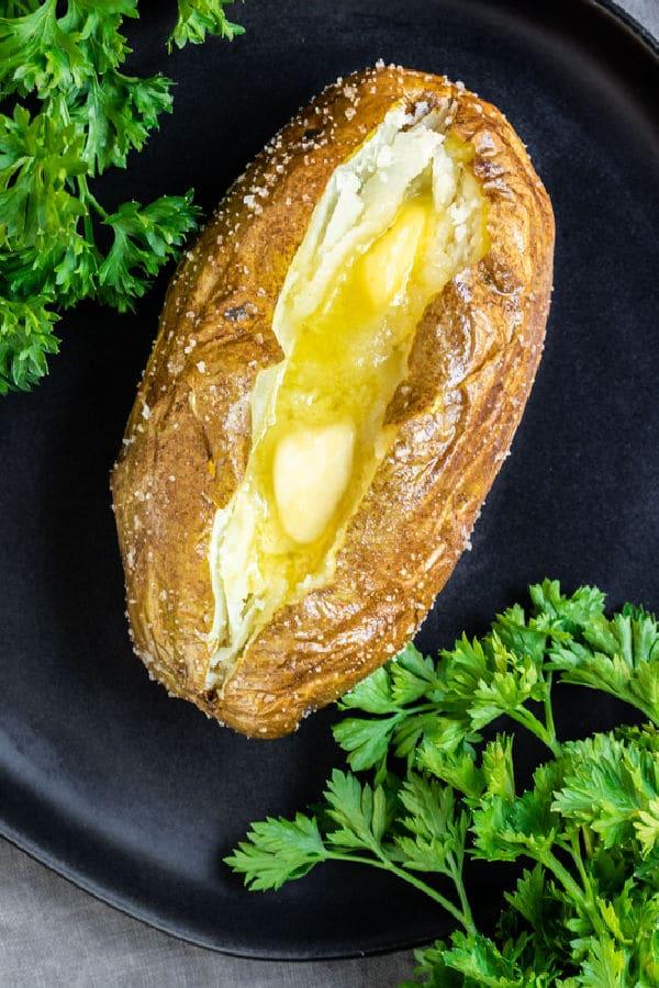 Air Fryer Baked Potato 6 - Amanda Seghetti