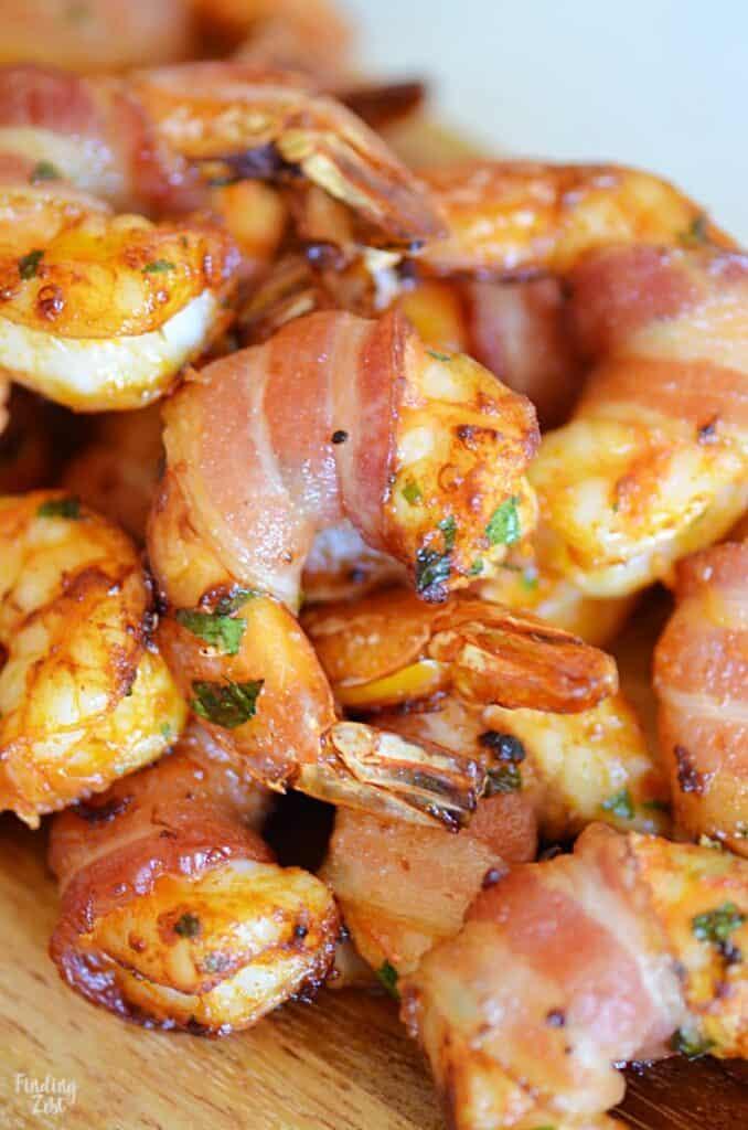 Bacon Wrapped Shrimp Appetizer - Amanda Seghetti