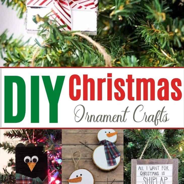 Easy DIY Christmas Ornaments and Crafty Holiday Decor