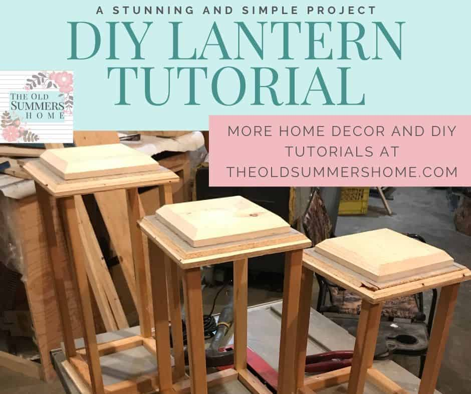 DIY lantern tutorial