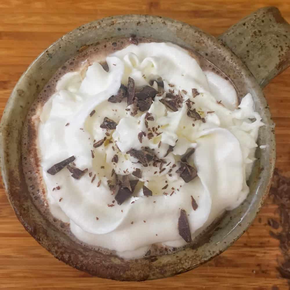 Dark Chocolate Maple Hot Cocoa - Amanda Seghetti