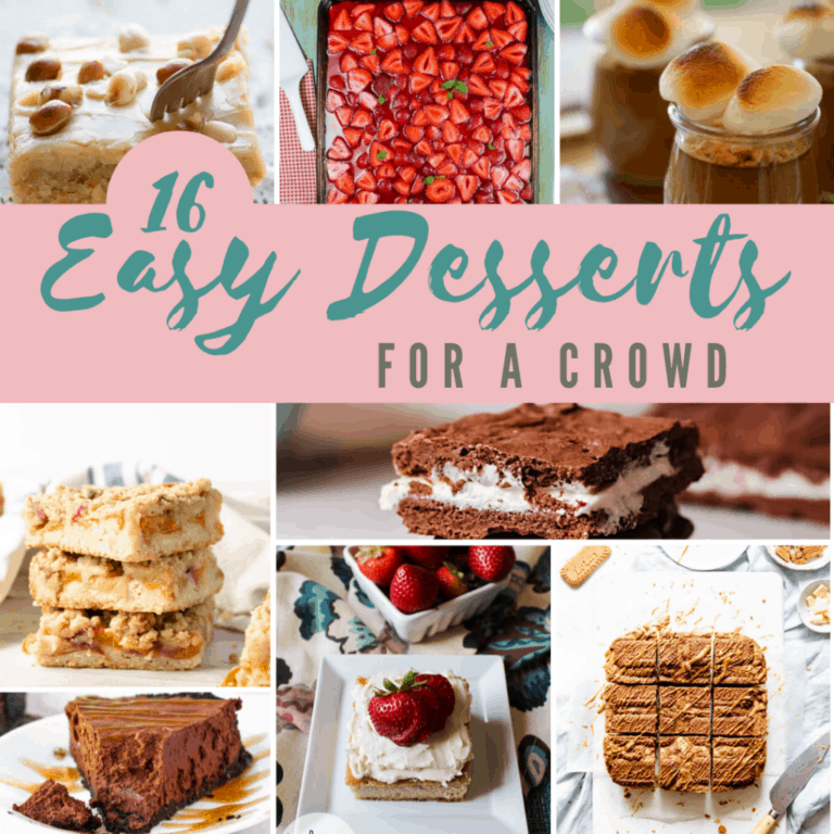 16 Easy Desserts for a Crowd
