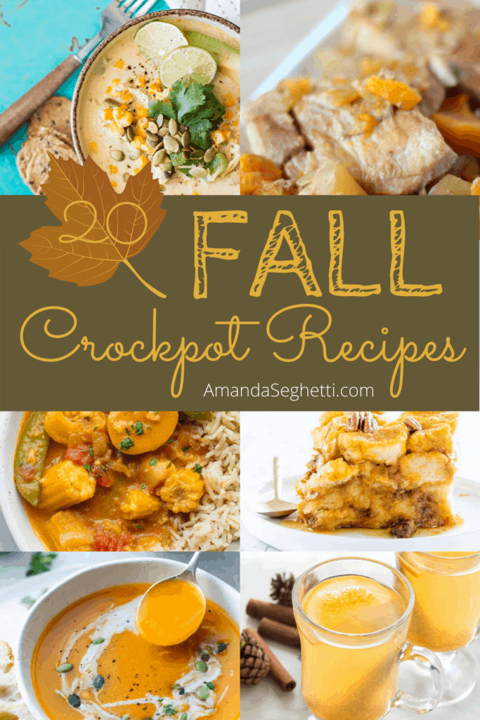 Fall Crockpot Recipes 1 - Amanda Seghetti