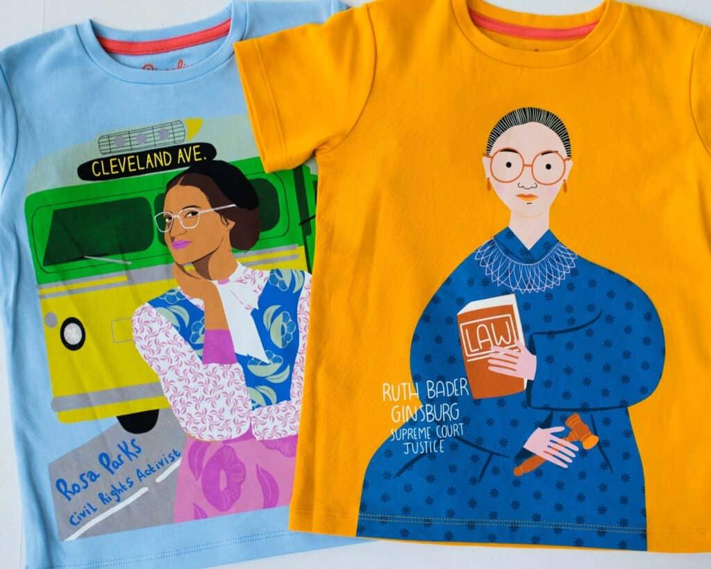 Piccolina Trailblazer tshirts