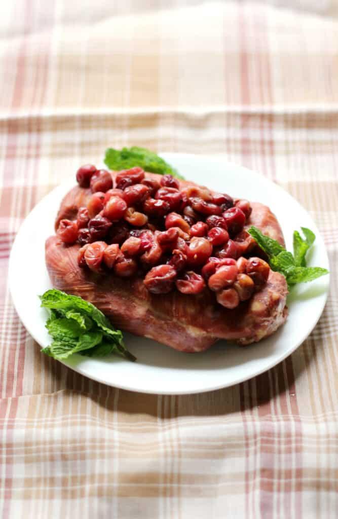 Slow Cooker Cranberry Chicken 1 - Amanda Seghetti