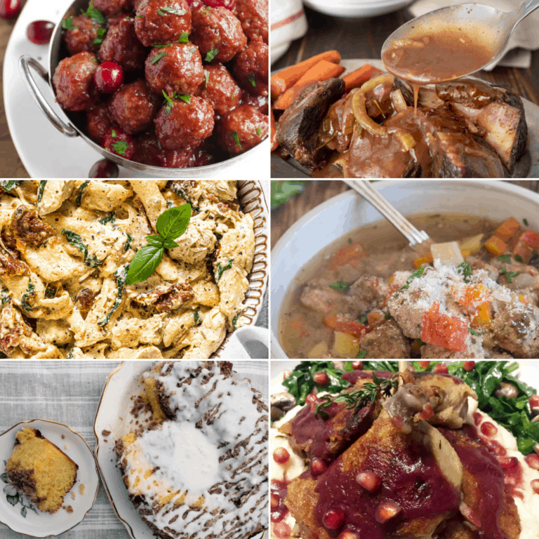 18 Comforting Winter Crockpot Recipes