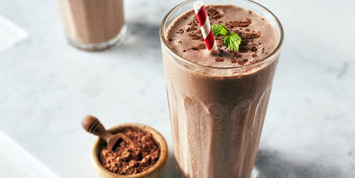 chocolate mint shakeology