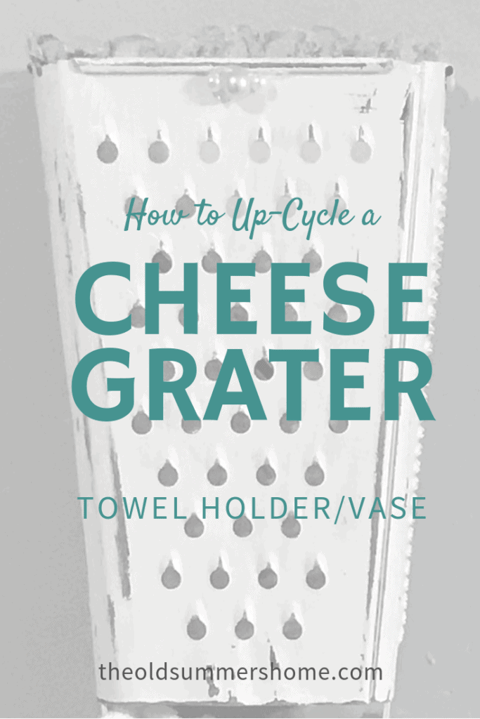 cheese grater upcycle - DIY tutorial