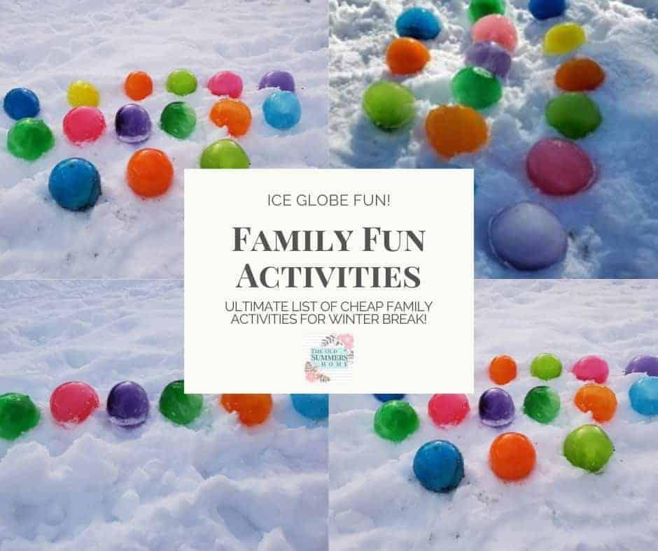 ice globe fun winter activities for family