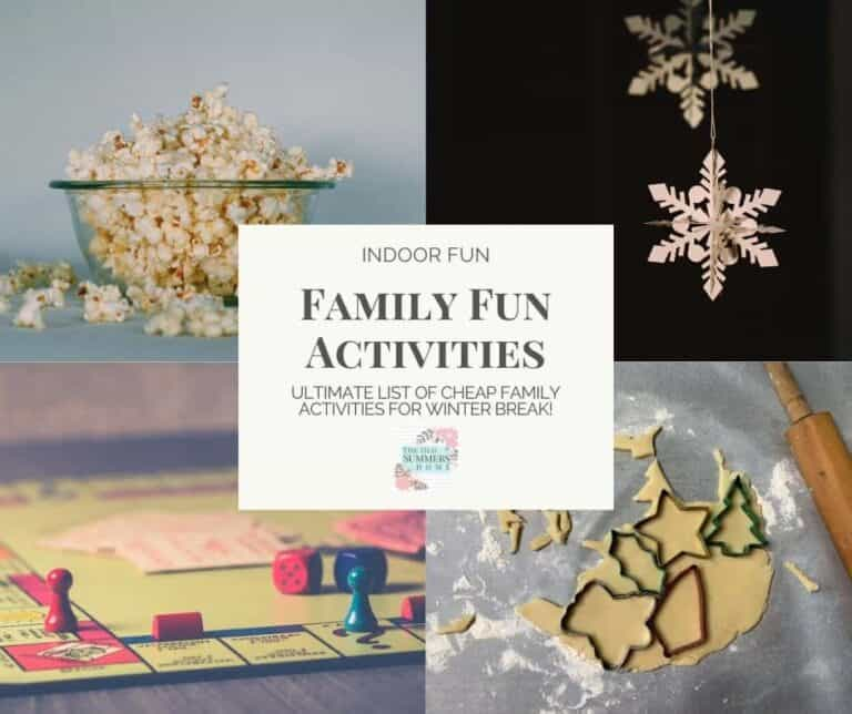 18 Family Activities for Winter Break Fun!