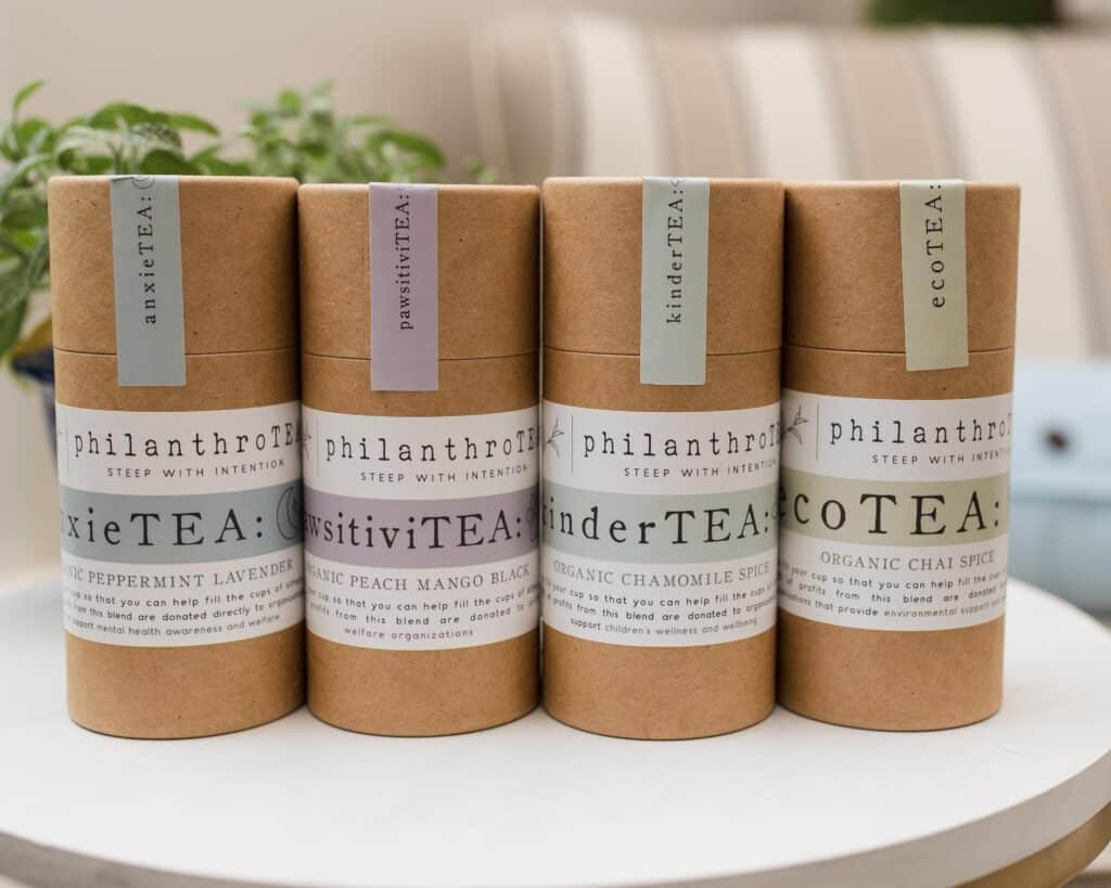 philanthroTEA gifts for tea lovers