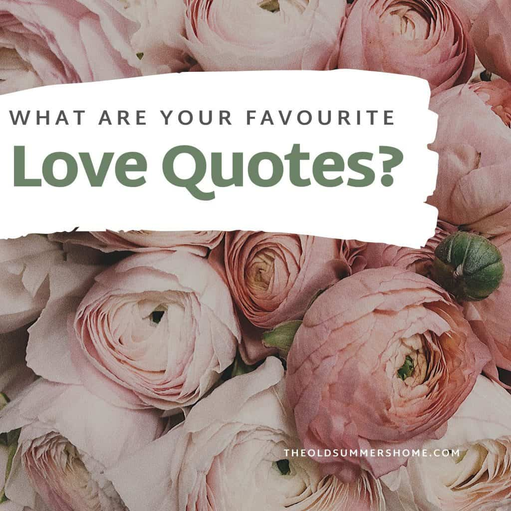what are your favorite love quotes
