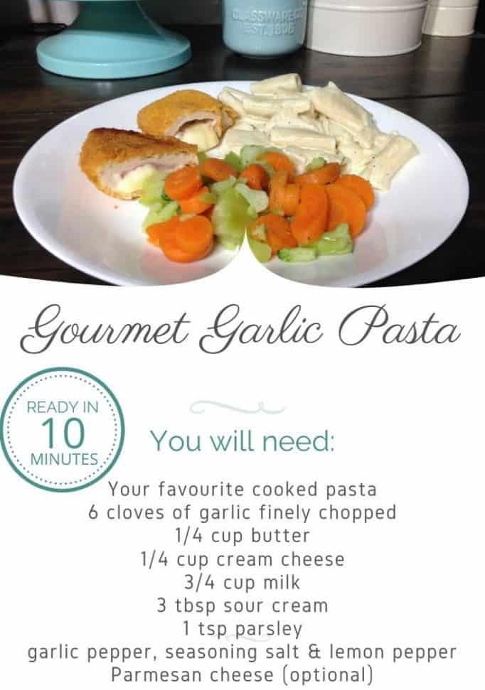 Garlic Pasta Sauce Recipe
