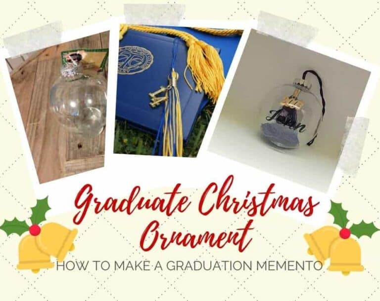 Graduate Christmas Ornament- A Quick & Easy Memento