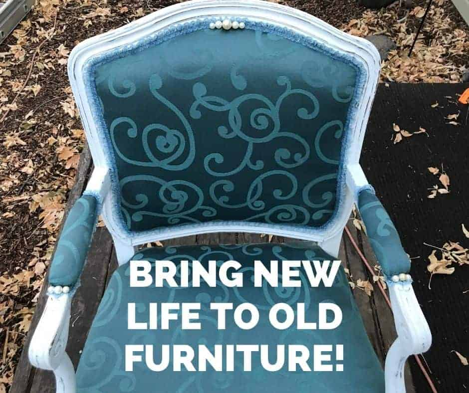 bring life to old furniture